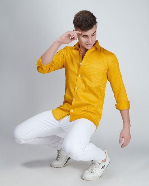 Classic Yellow Shirt